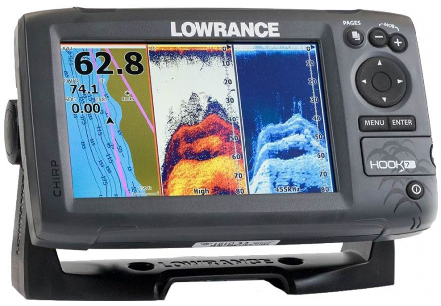 Эхолот Lowrance Hook-7 Mid/High/DownScan